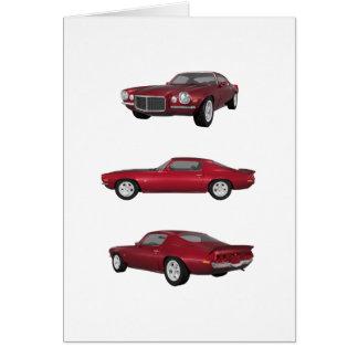 1972 Camaro: Card
