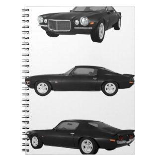 1972 Camaro: Spiral Notebook