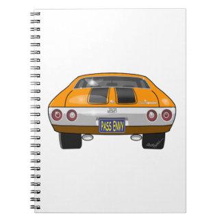1972 Chevrolet Chevelle Notebook