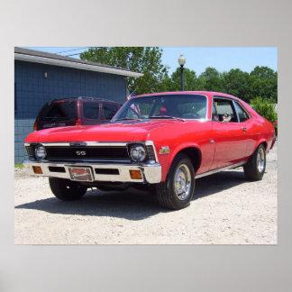 1972 Chevrolet Nova Poster