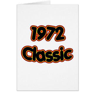 1972 Classic copy Card