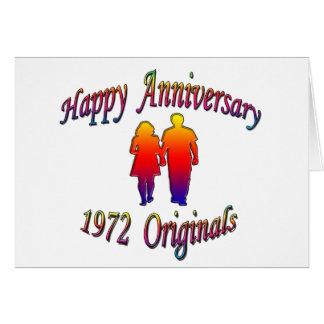 1972 Couple Card