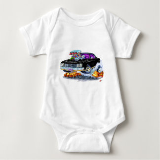 1972 Monte Carlo Black Car Baby Bodysuit