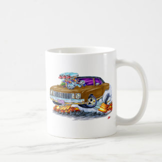 1972 Monte Carlo Brown Car Coffee Mug