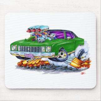1972 Monte Carlo Green Car Mouse Pad