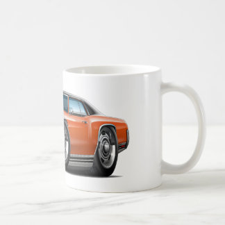1972 Monte Carlo Orange-Black Top Car Coffee Mug