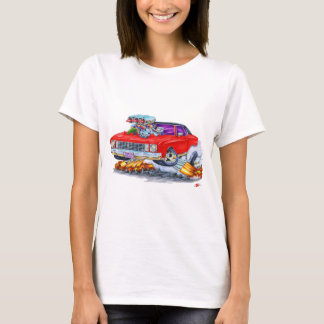 1972 Monte Carlo Red Car T-Shirt