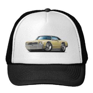 1972 Monte Carlo Tan-Black Top Car Trucker Hat
