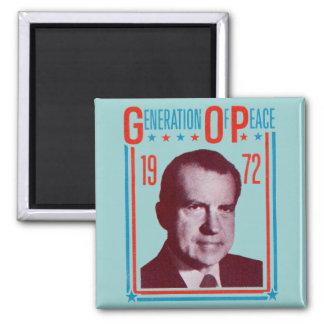1972 Nixon Presidential Campaign Magnet