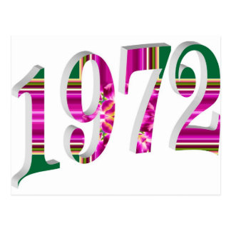 1972 POSTCARD
