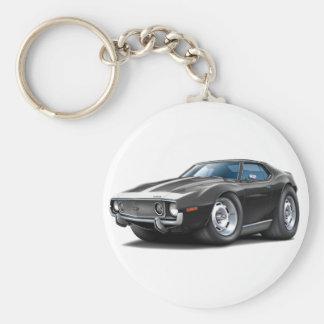 1973-74 Javelin Black-White Car Keychain