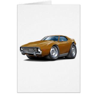 1973-74 Javelin Brown Car Card