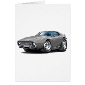 1973-74 Javelin Grey Car Card