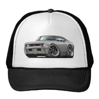 1973-74 Nova Silver-Black Top Trucker Hat