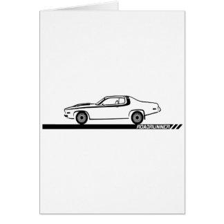 1973-74 Roadrunner Black Car Card