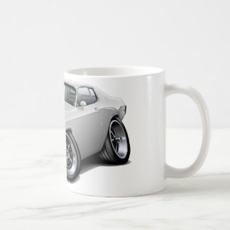 1973-74 Roadrunner White Car Coffee Mug