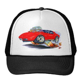 1973-76 Corvette Red Car Trucker Hat