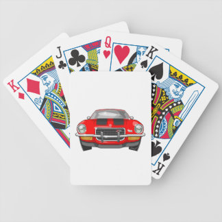 1973 Chevy Camaro Bicycle Playing Cards