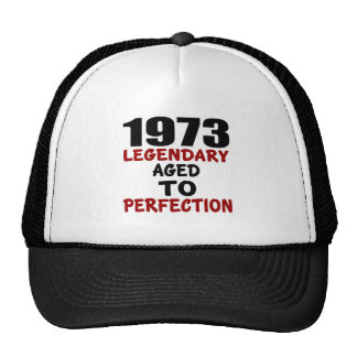 1973 LEGENDARY AGED TO PERFECTION TRUCKER HAT