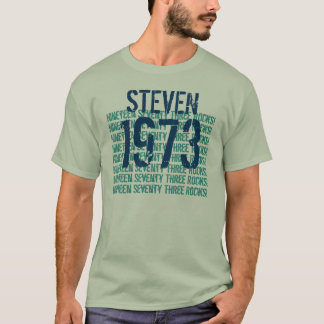1973 Vintage Year 40th Birthday F309F T-Shirt