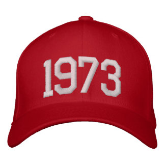 1973 Year Embroidered Hat