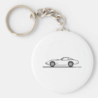 1974 - 1977 Corvette Keychain