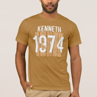 1974 40th Birthday or any Year Vintage CINNAMON V1 T-Shirt