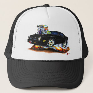 1974-76 Firebird Black Car Trucker Hat