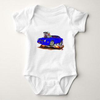 1974-76 Firebird Blue Car Baby Bodysuit