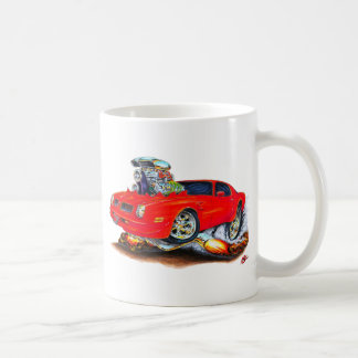 1974-76 Firebird Red Car Coffee Mug
