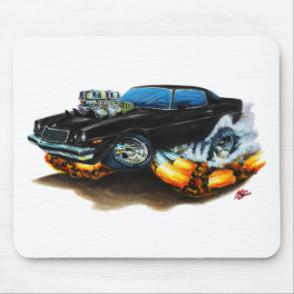 1974-78 Camaro Black Car Mouse Pad
