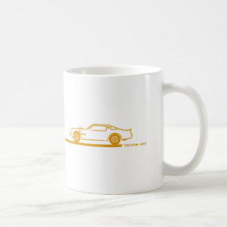 1974-78 Trans Am GoldCar Coffee Mug