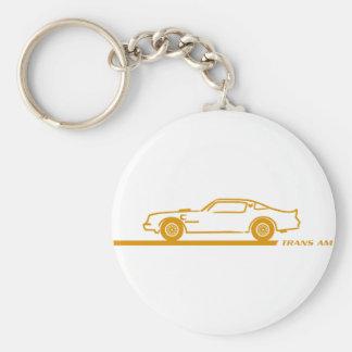 1974-78 Trans Am GoldCar Keychain