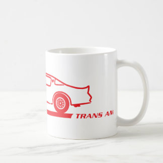 1974-78 Trans Am Red Car Coffee Mug