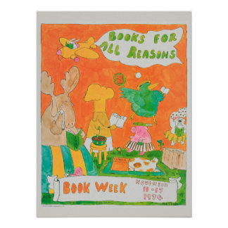 1974 Children's Book Week Poster