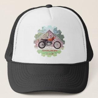 1974 Classic Motorcycle Yamaha 250 Trucker Hat
