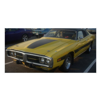 1974 Dodge Charger Hard Vinyl Top Poster