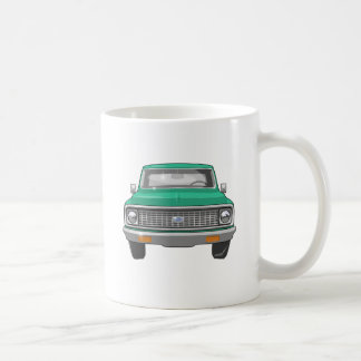 1974 Green Chevy Truck Coffee Mug