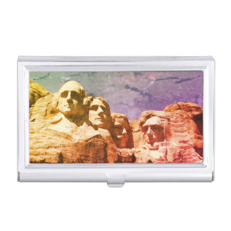 1974 Mount Rushmore Presidential Monument Business Card Holders