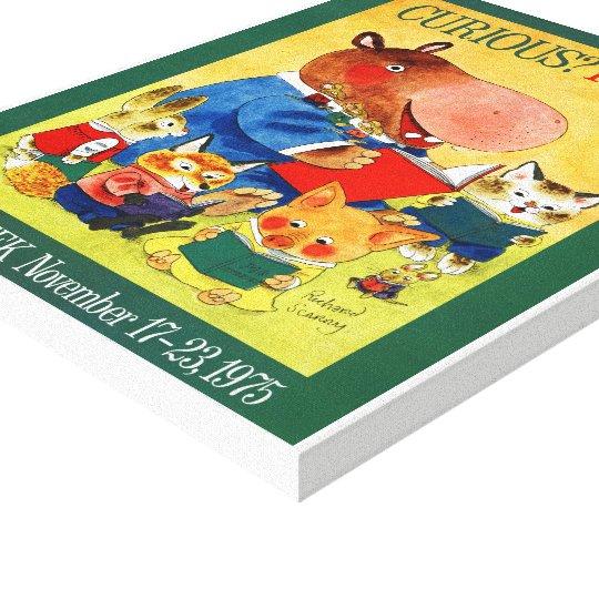 1975 Children's Book Week Canvas