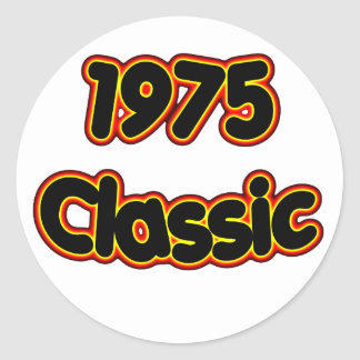 1975 Classic Classic Round Sticker