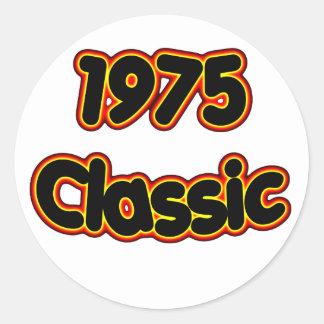 1975 Classic Round Sticker