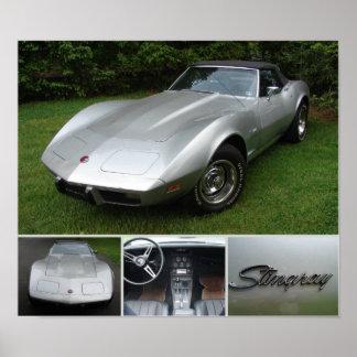 1975 Corvette Poster