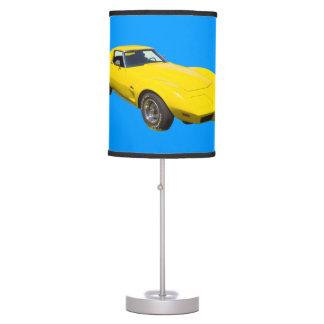 1975 Corvette Stingray Sports Car Table Lamp