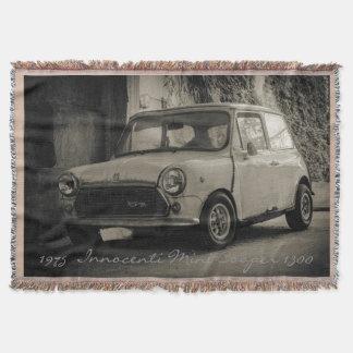 1975  Innocenti Mini Cooper 1300 Throw Blanket