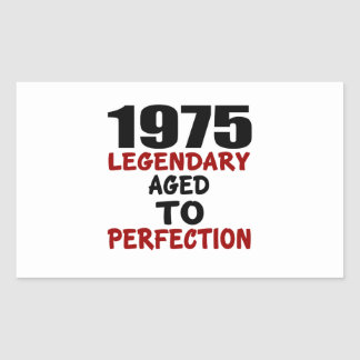 1975 LEGENDARY AGED TO PERFECTION