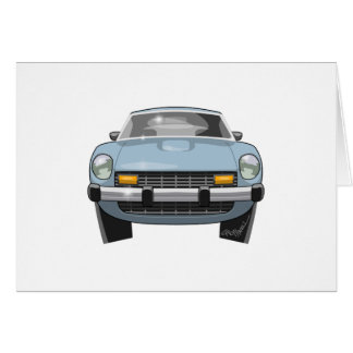 1976 280Z Front View Card