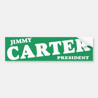 1976 Jimmy Carter President Vintage Bumper Sticker