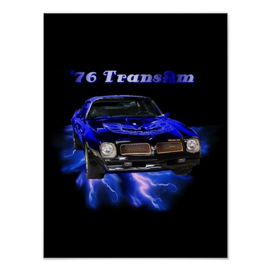 1976 Trans Am Poster