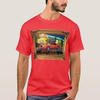 1976 TRANS AM T-SHIRT-COLOR T-Shirt